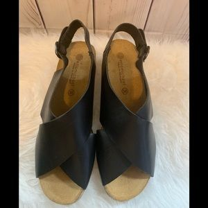 Women's Eric Michaels size 36 leather sandals